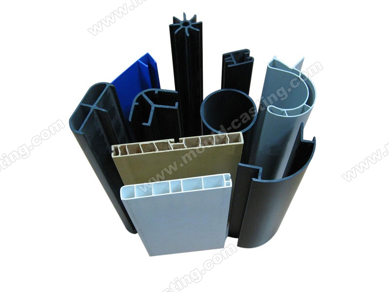 Customized PVC plastic extrusion